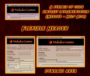 Publisher Component | Custom Editor | Unity Asset Store | Flexible Header