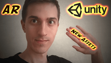 New AR Unity Assets, New Website and Happy New Year 2018! ?