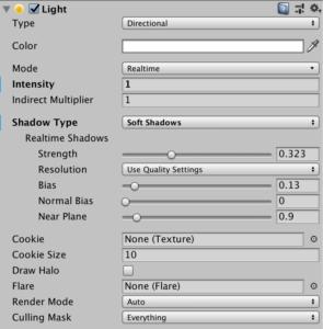 AR Shadow - Directional Light - Vuforia Shadow