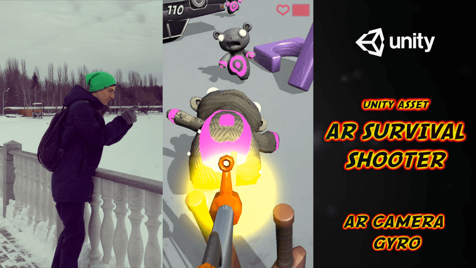 AR Shadow — New Unity Asset 2019 — Vuforia AR or Any AR