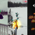 AR Survival Shooter | Unity Asset | AR Shooter | Screenshot 1 - AR Shadows