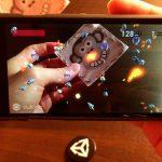 AR Space Shooter | Unity Asset | Vuforia | Screenshot 1 — Mobile Space Shooter