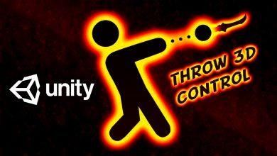 Throw Control — Unity Asset — Throw Object