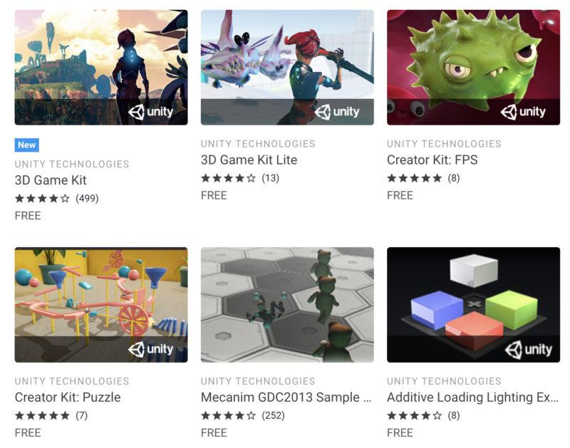 Video Courses on Unity Asset Store