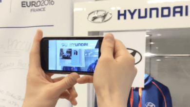 AR Brochure for Hyundai with Unity