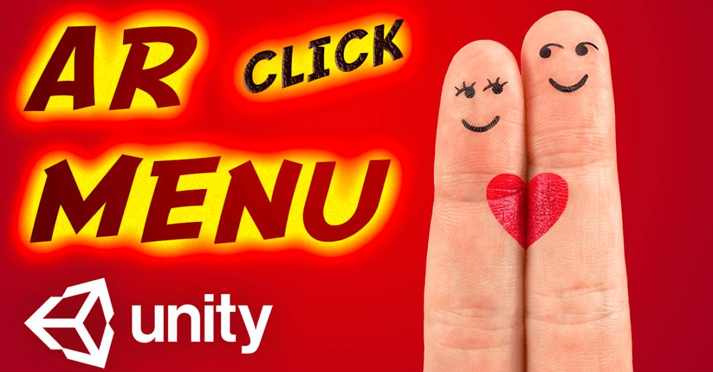 AR Menu — Click — Unity Asset