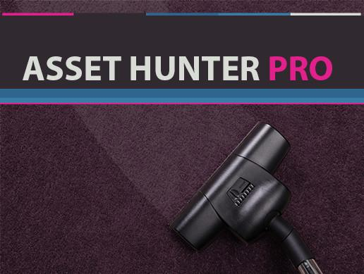Asset Hunter PRO — Unity Asset — Clean Up your Project