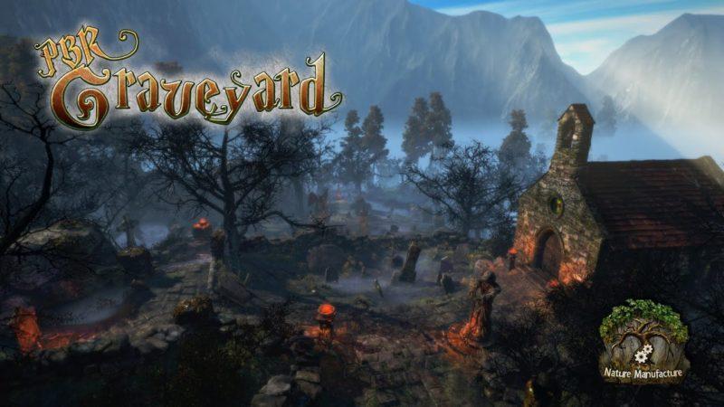 PBR Graveyard — Unity Asset — 3D