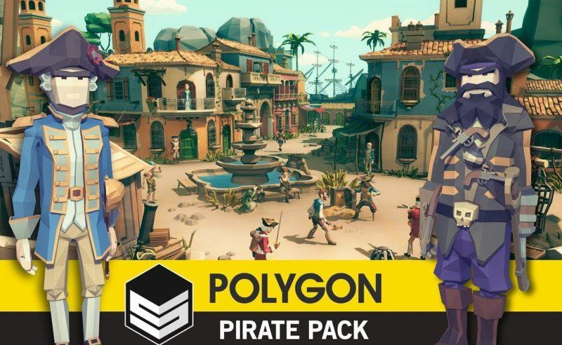 POLYGON — Pirates Pack — Unity Asset — 3D