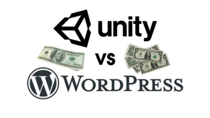 IT Business — Unity vs WordPress — Software Business