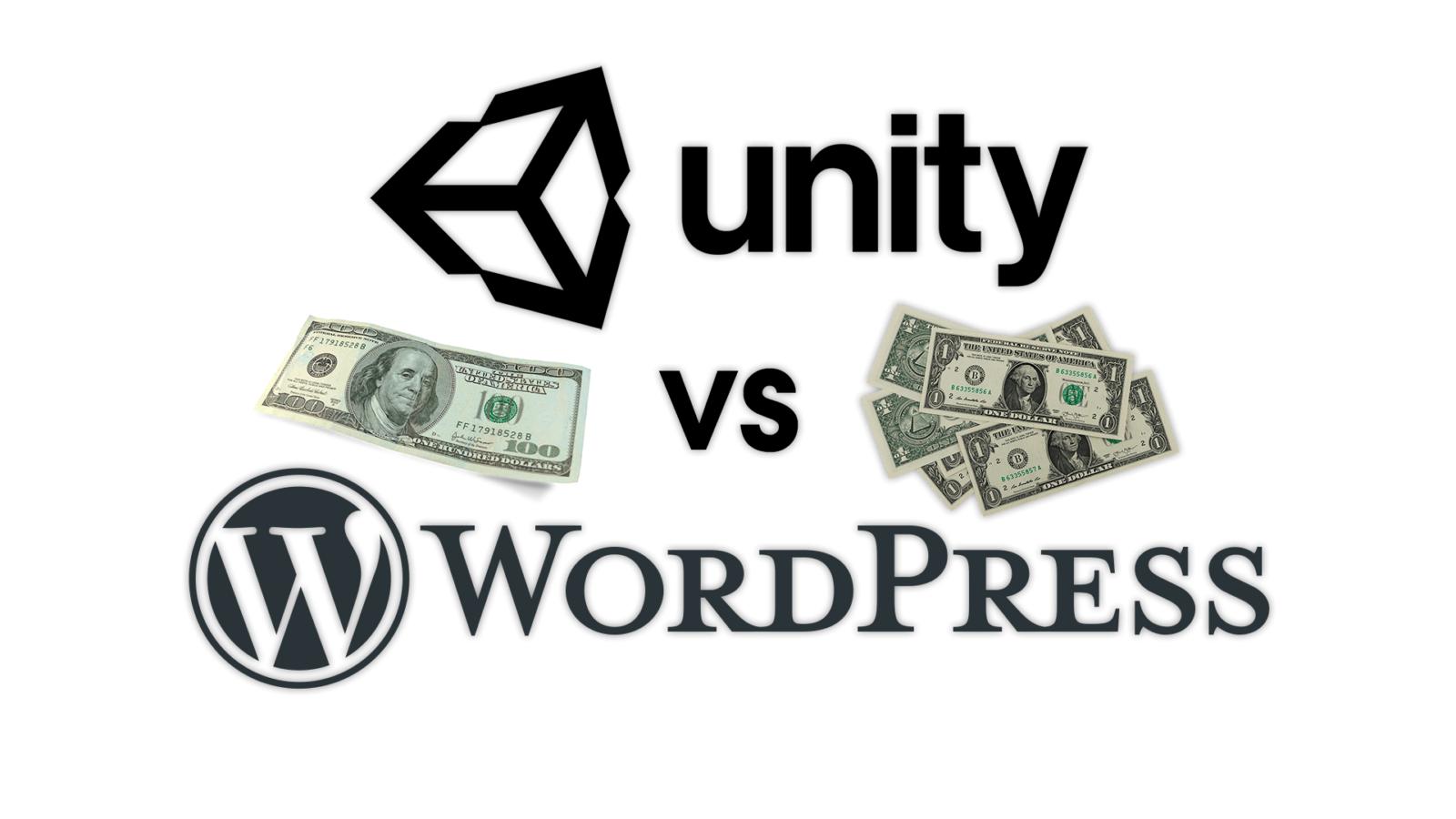 IT Business — Unity vs WordPress — Software Business