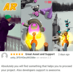 New Review for AR Survival Shooter - Unity Asset