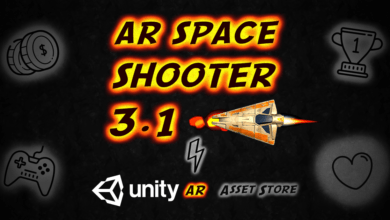 AR Space Shooter — 3.1 — New Version — Unity Asset