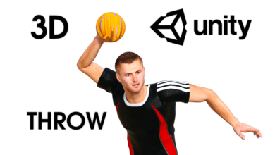 Throw Object — Unity Asset — Game Development with Unity — Throw Ball