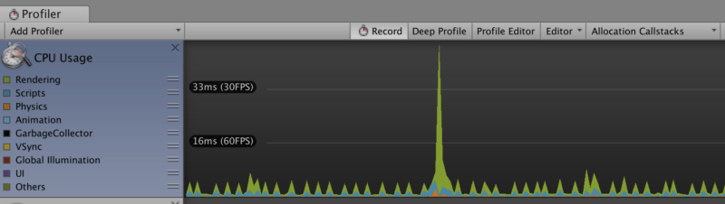 CPU Spikes in Unity — Performance Problems