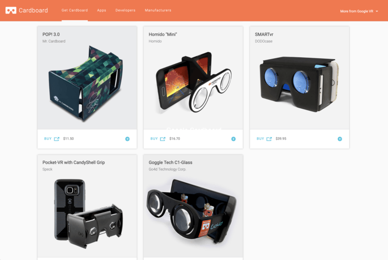 Google Cardboard for AR with Camera Hole — Mixed Reality —AR + VR