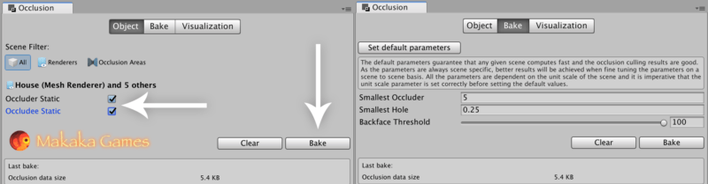 Occlusion Culling — Window — Unity Optimization