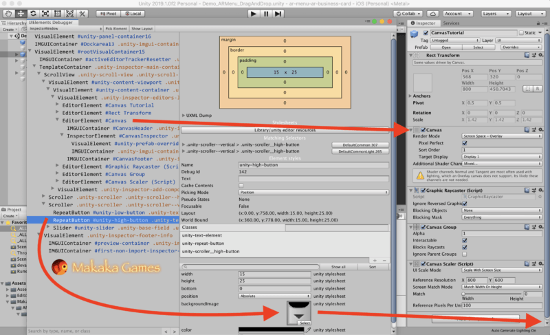 Unity Optimizations — Unity UIElements Debugger