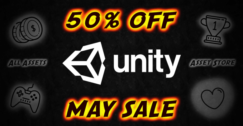 Unity SALE MADNESS — Asset Store Sale — May Madness Sale — Unity Asset Store Sales