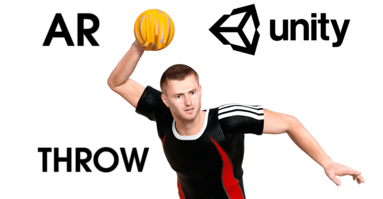 AR Throwing — Unity Asset — Game Development with Unity — AR Throw Ball