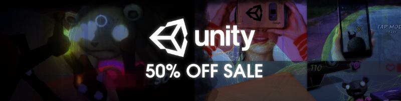 Unity Asset Store — Sale — 50% OFF
