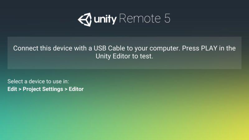 Unity Remote — iOS & Android App