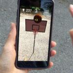 AR Basketball GO — Unity Asset — Flick (Swipe) Mode