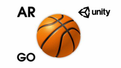 AR Basketball GO — Unity Asset