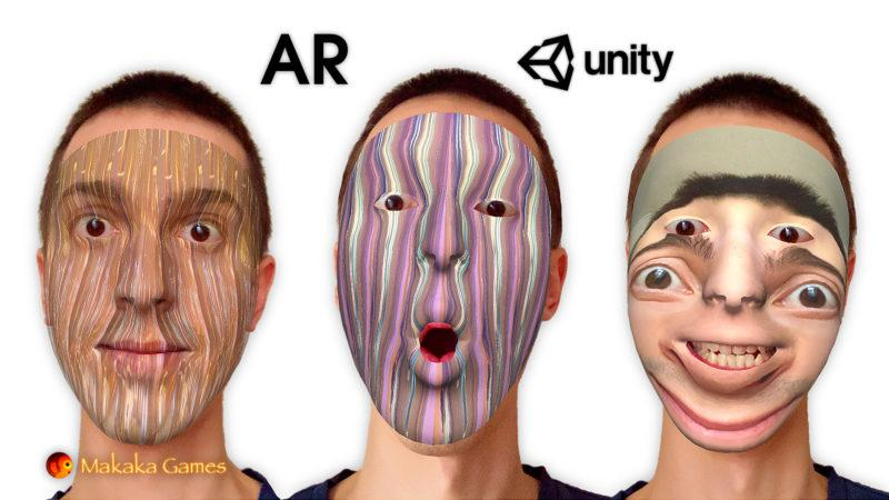 AR Masks (AR Face Filters) — Unity Asset — AR Foundation (ARKit, ARCore) — iOS, Android