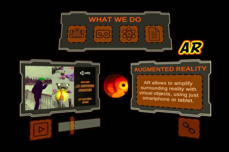 AR Business Card or AR Menu (Unity Asset)