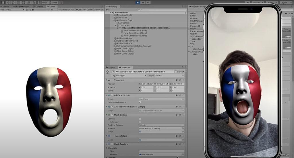 AR Foundation Editor Remote — AR Remote Tool allowing you test AR App without building right in Unity Editor. Unity Asset.