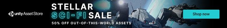 Unity Asset Store Sale - Sci-Fi