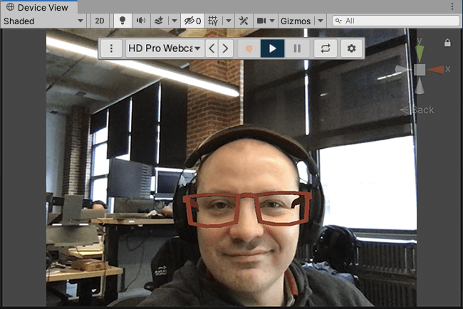Unity MARS — AR Face Tracking — Remote Testing