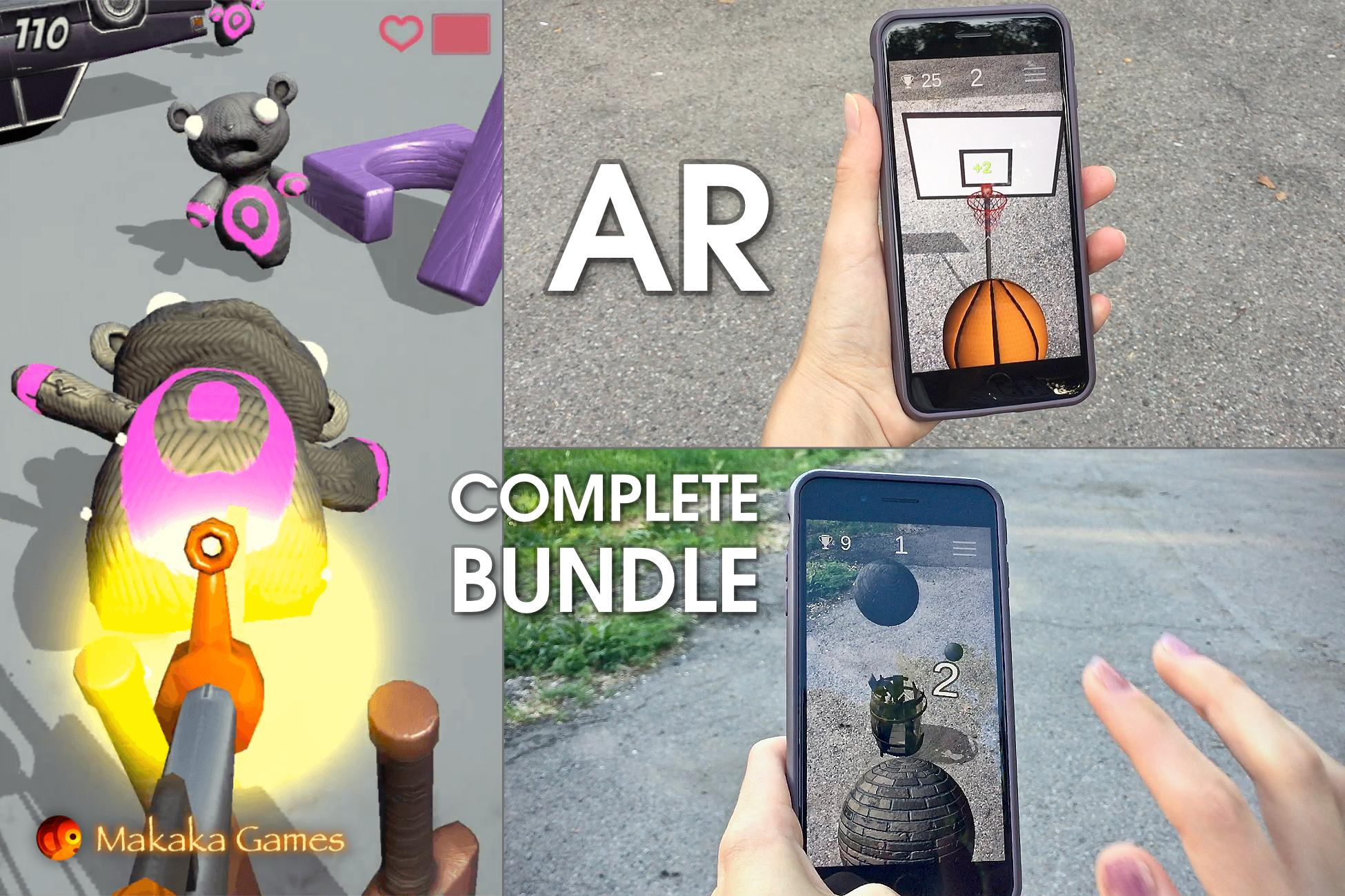 Unity AR Bundle — Unity Asset: Complete Collection of AR Projects & AR Tools