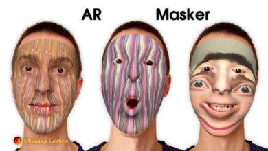 AR Masker (AR Face Filters) — AR Masks — AR Foundation (ARKit, ARCore) — iOS, Android — Mobile App
