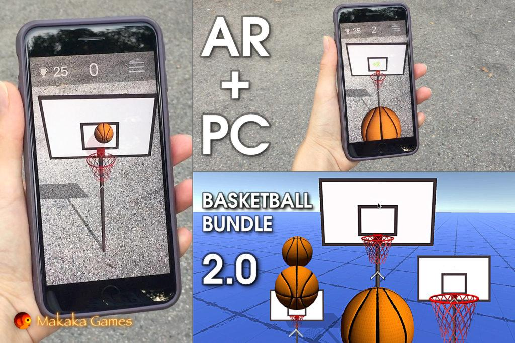 Basketball Bundle — Unity Asset — Sport Arcades: Mobile & Desktop — 3D Games: Basketball Game Templates